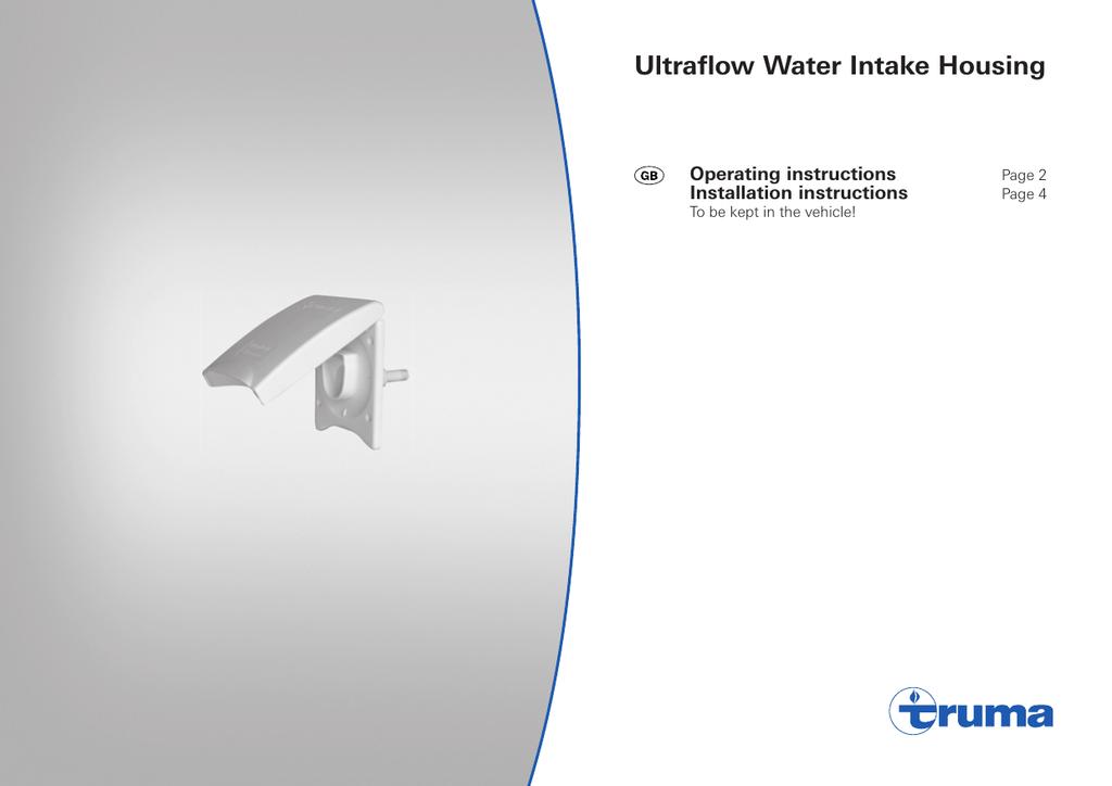 Board pump on mains water through ultraflow truma topic Truma Ultraflow