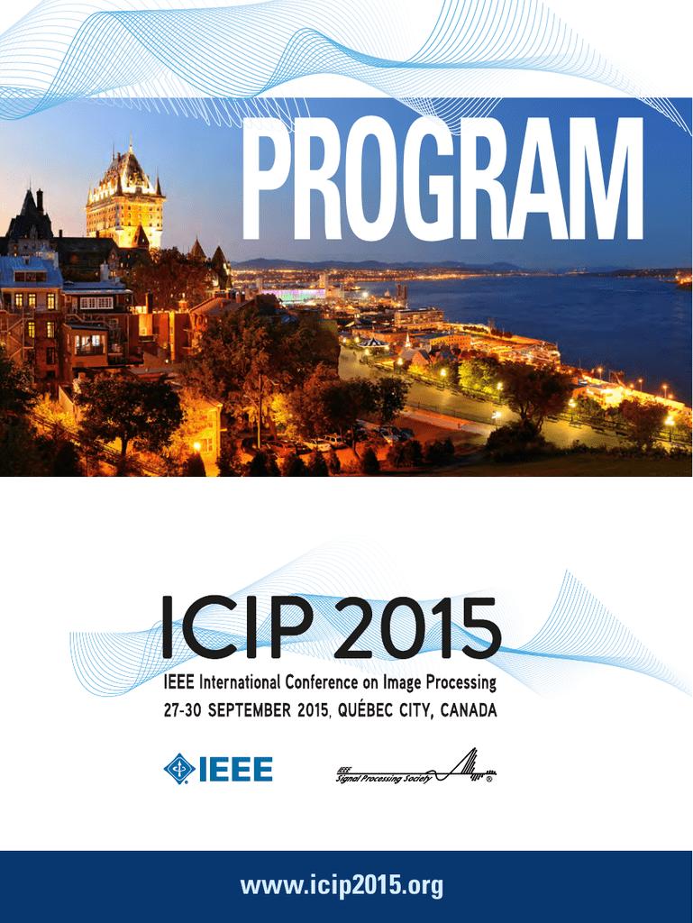 http://www icip2015 org/doc/Program-ICIP2015 pdf | manualzz com