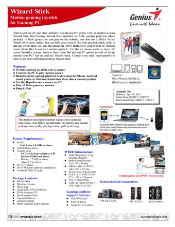 125164-WizardStick.pdf | Manualzz