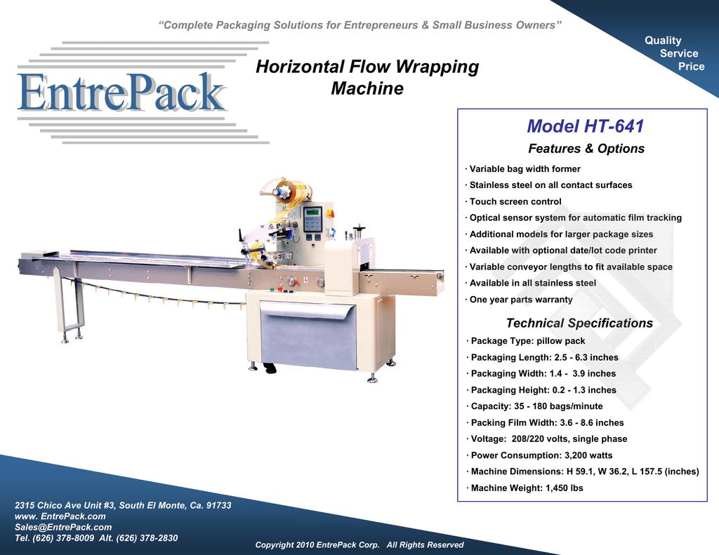 BrochureHT-641(flowwrapper).pdf   Manualzz