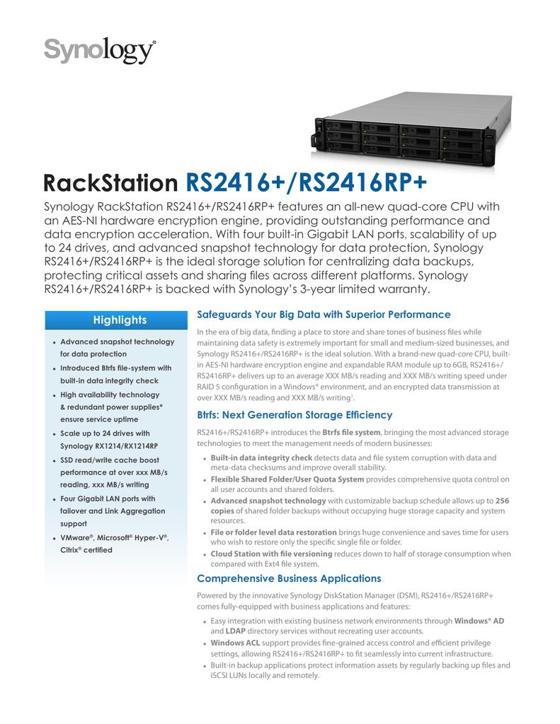 160518-Synology_RS2416_RS2416RP_Data_Sheet_enu pdf