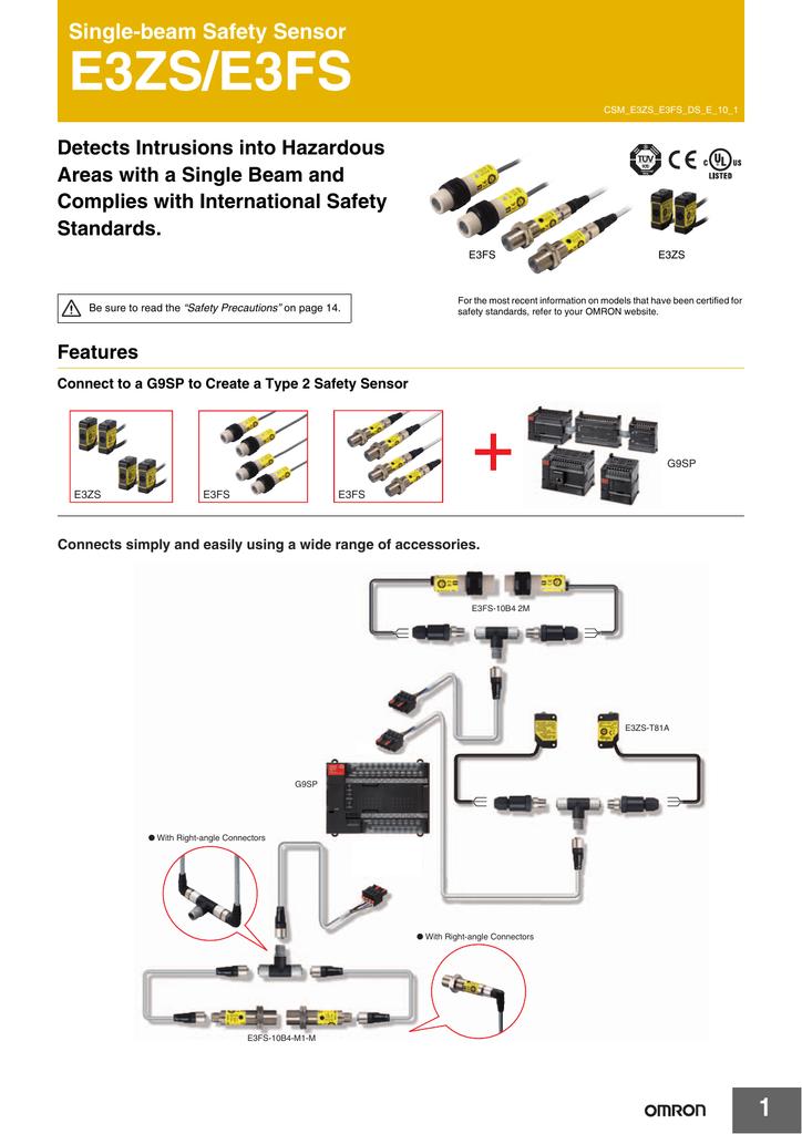 Cam bien quang Omron E3FS - Catalog.pdf   Manualzz