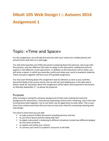Assignment 1 instructions.pdf | Manualzz