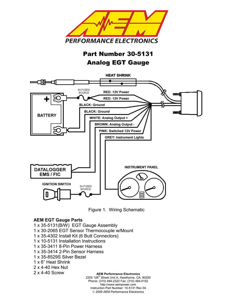 30 Autometer Pyrometer Wiring Diagram