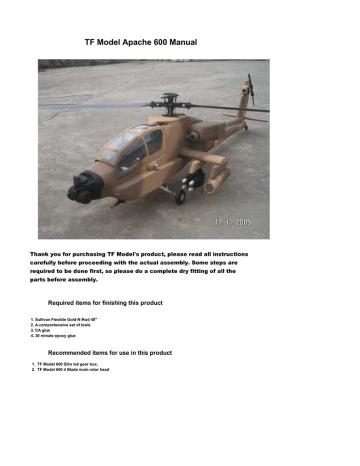 apache600.pdf | Manualzz