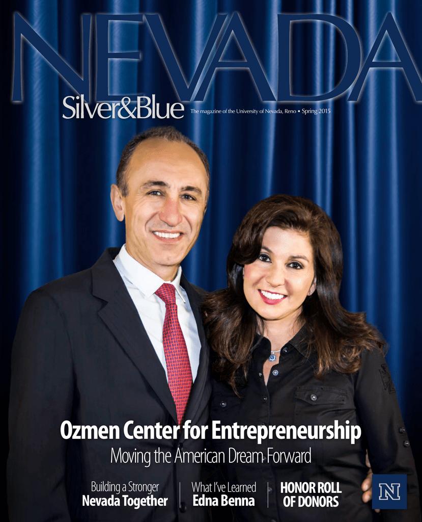 Ozmen Center For Entrepreneurship Moving The American