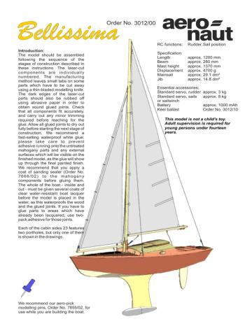 http://www.aero-naut.de/uploads/tx_e...llissima_e.pdf | Manualzz