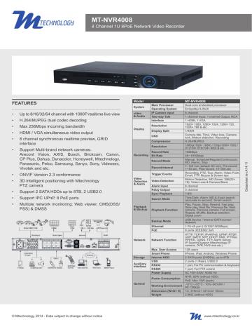 MT-NVR4008_stampa.pdf | Manualzz