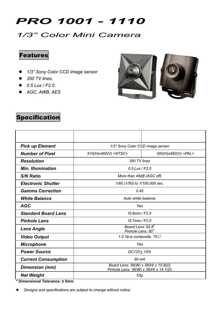 PRO-1001.PDF | Manualzz