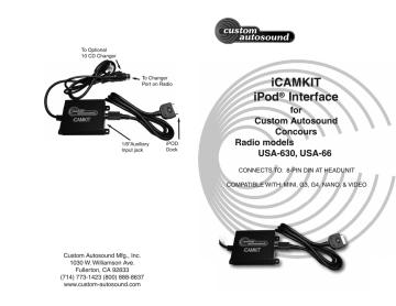 1. http://www.casmfg.com/images/iCAMKIT_user.pdf   Manualzz