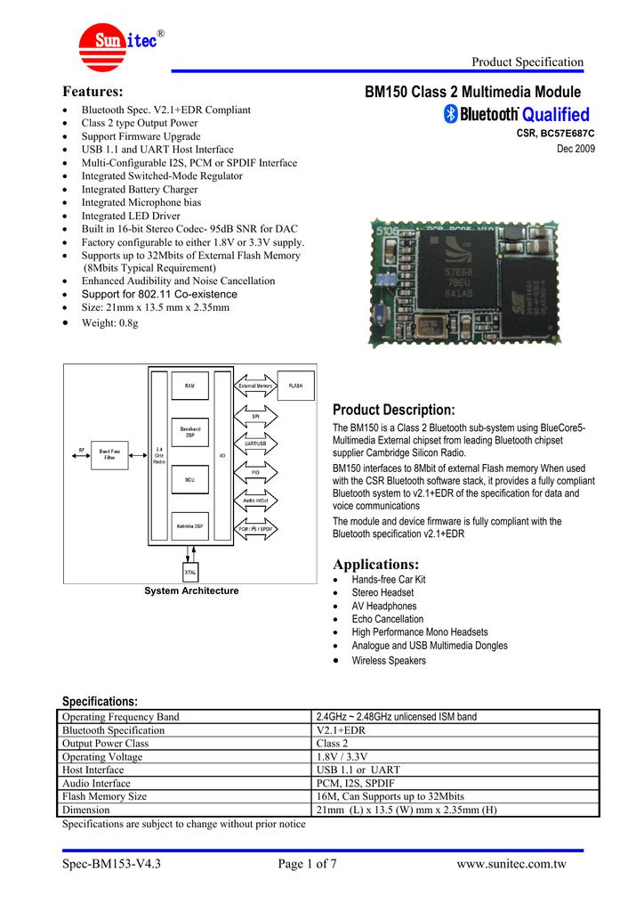 SPEC-BM153-V4.3_03122009.pdf   Manualzz