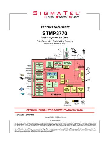 STMP3770-ds-1-04.pdf | Manualzz