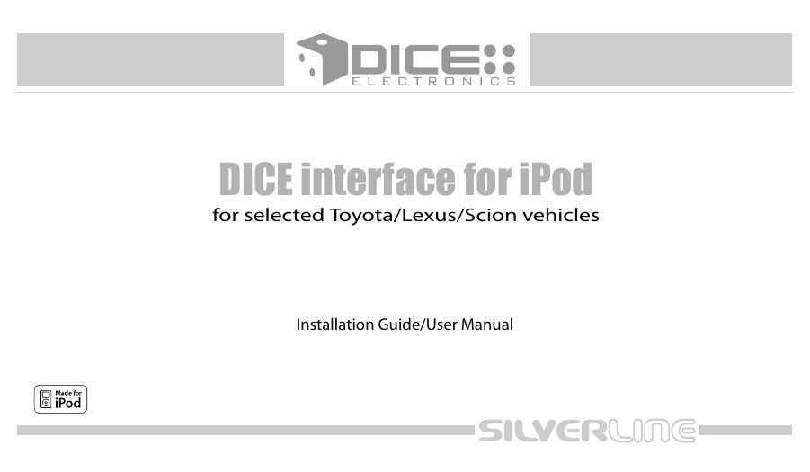 1. http://www.autotoys.com/pdf/toyota_dice_gs.pdf | Manualzz