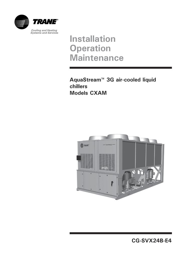 CXAM Heat Pump IOM.pdf | Manualzz