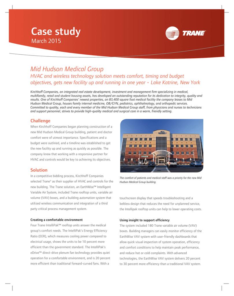 Case study Mid Hudson Medical Group March 2015 | manualzz com