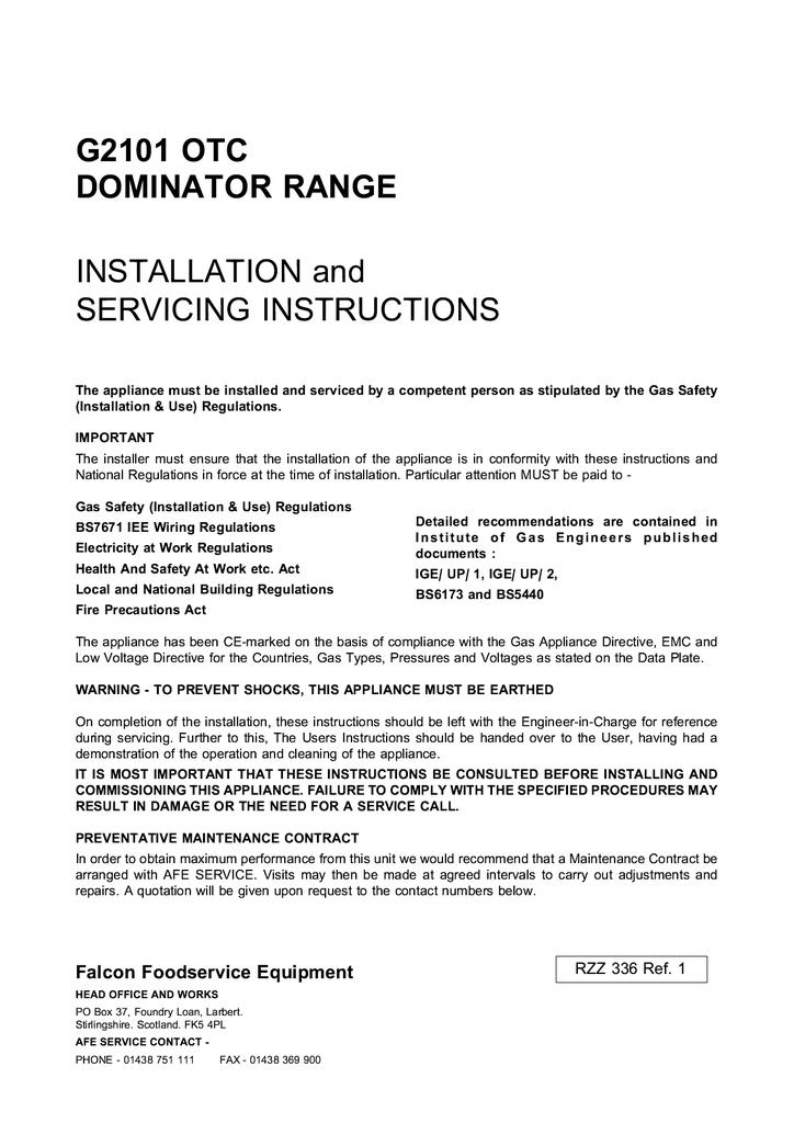 G2101 OTC! Service Manual.PDF | Manualzz