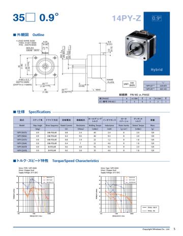 Minebea stepper.pdf | Manualzz