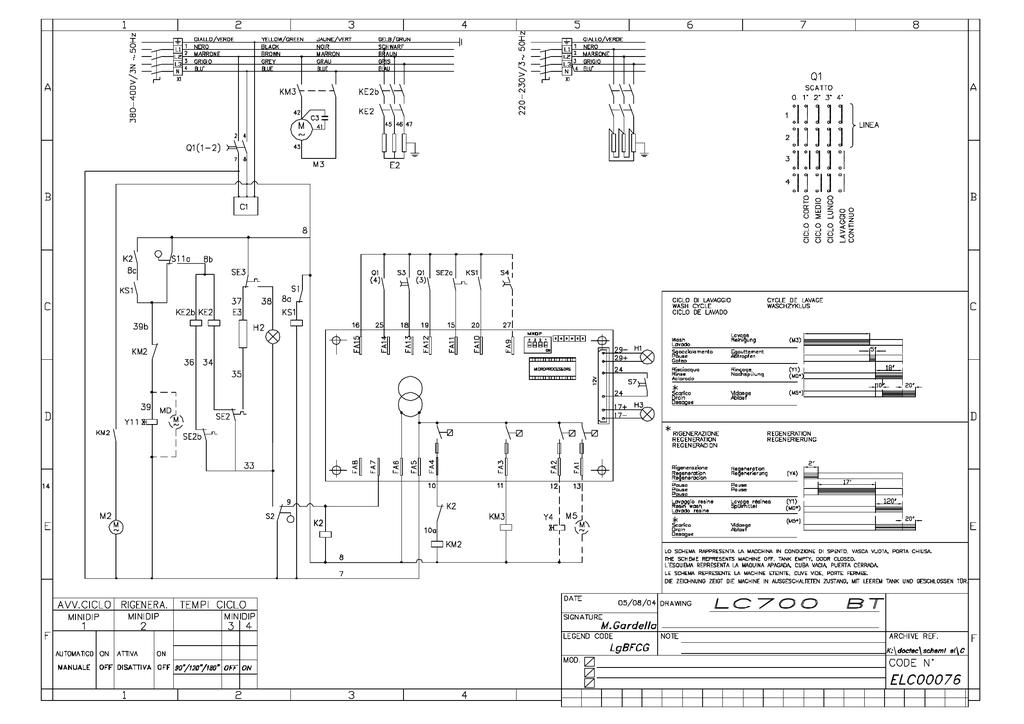 Lc700 Wiring Diagram Pdf Manualzz, Dishwasher Wiring Diagram