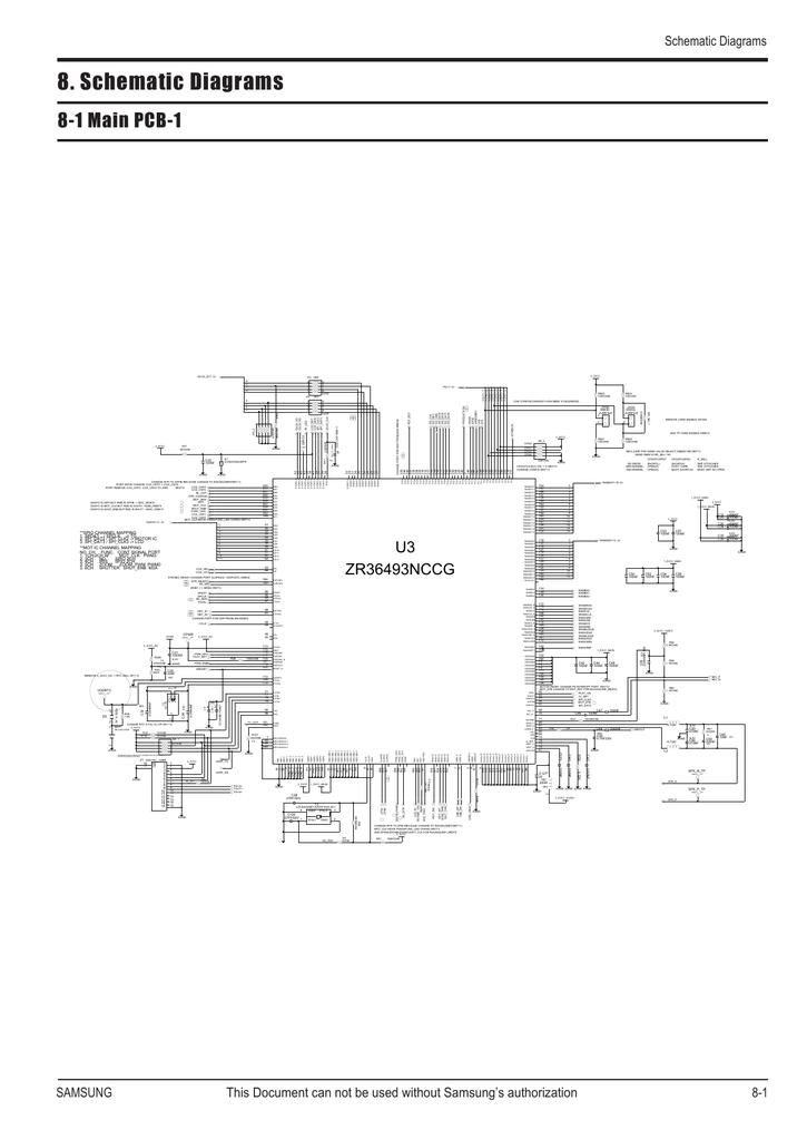 ZR36493NCCG (11S)es65_Schematic_Diagrams_ENG.pdf | Manualzz