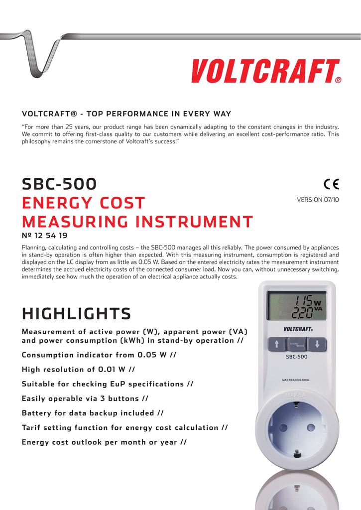schetchik_elektroenergii_voltcraft_sbc_500_125419_en.pdf   Manualzz