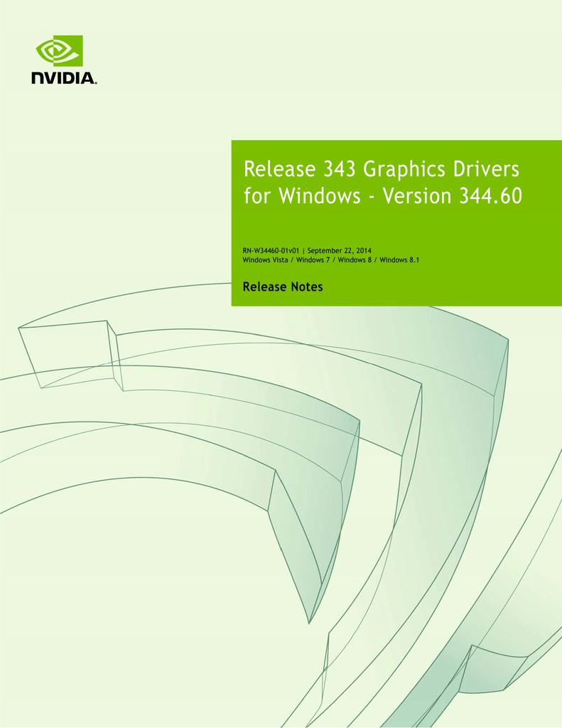 http://us.download.nvidia.com/Window...ease-notes.pdf | Manualzz