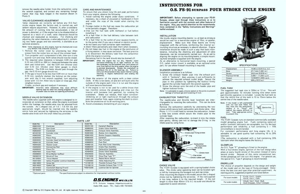 http://www.dieselrc.com/download/os_fs-91s.pdf   Manualzz
