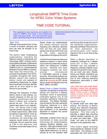 timecode.pdf | Manualzz