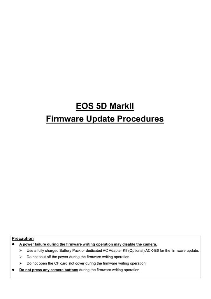 eos5dmk2-firmup-e.pdf | Manualzz