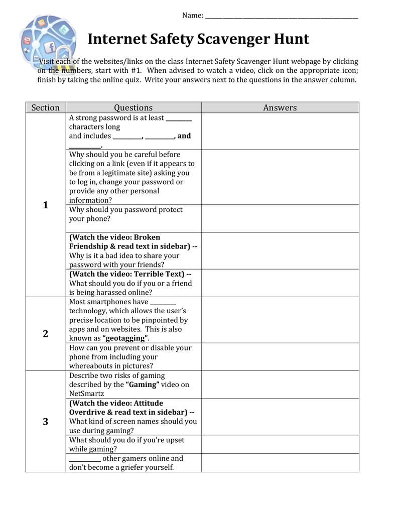 Internet_Safety_Scavenger_Hunt_files/Internet.Safety.SH.pdf | Manualzz