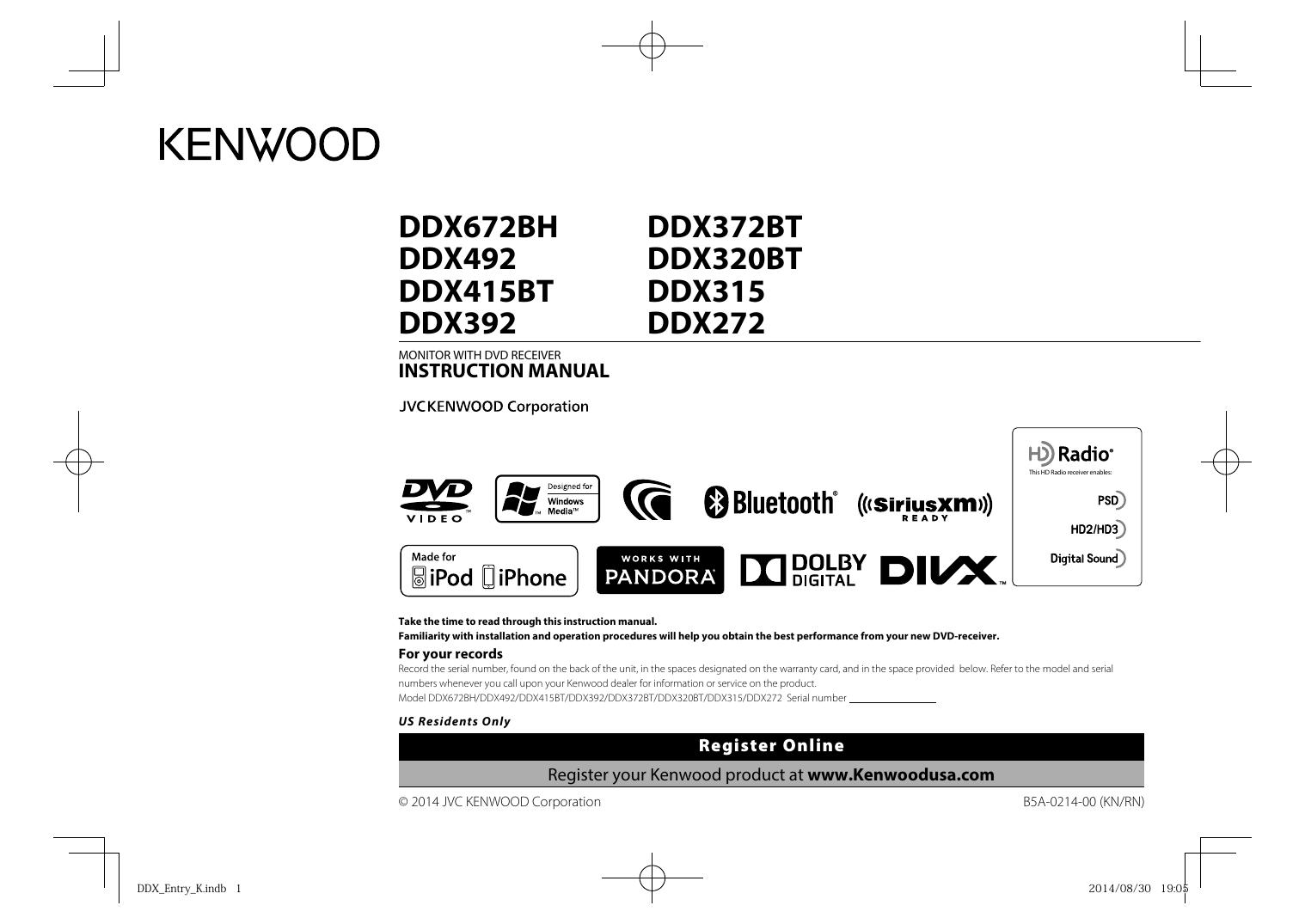 on ddx672bh kenwood wiring harness