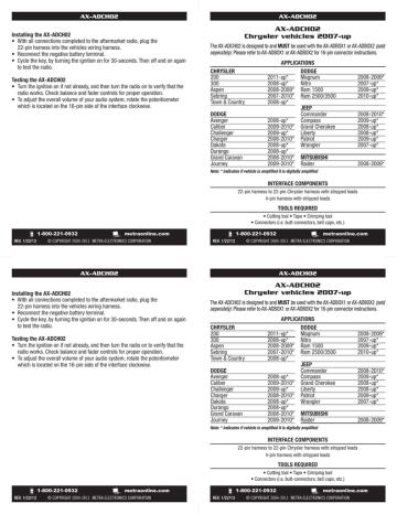 1. http://www.autotoys.com/pics/INSTAX-ADCH02_web.pdf | Manualzz