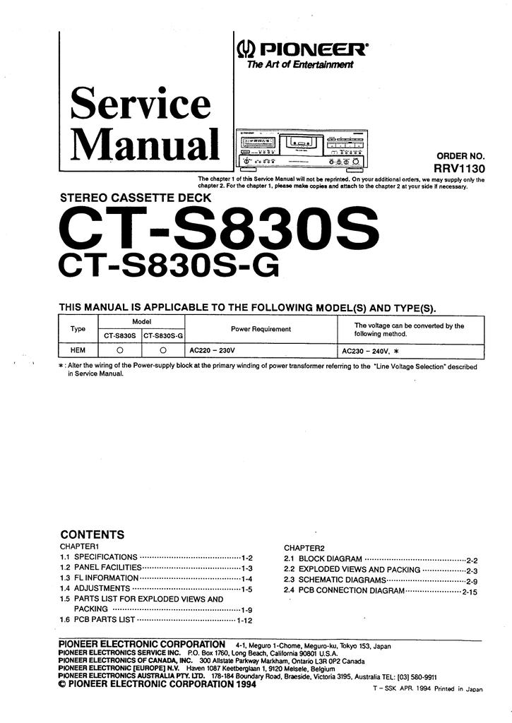 pioneer_cts830s_sm.pdf   Manualzz