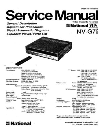 NV-G7e.pdf | Manualzz