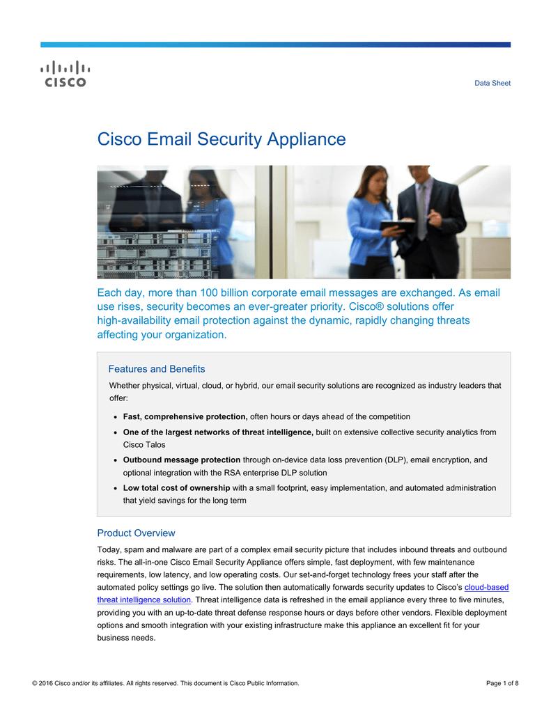 Cisco Email Security Appliance | manualzz com