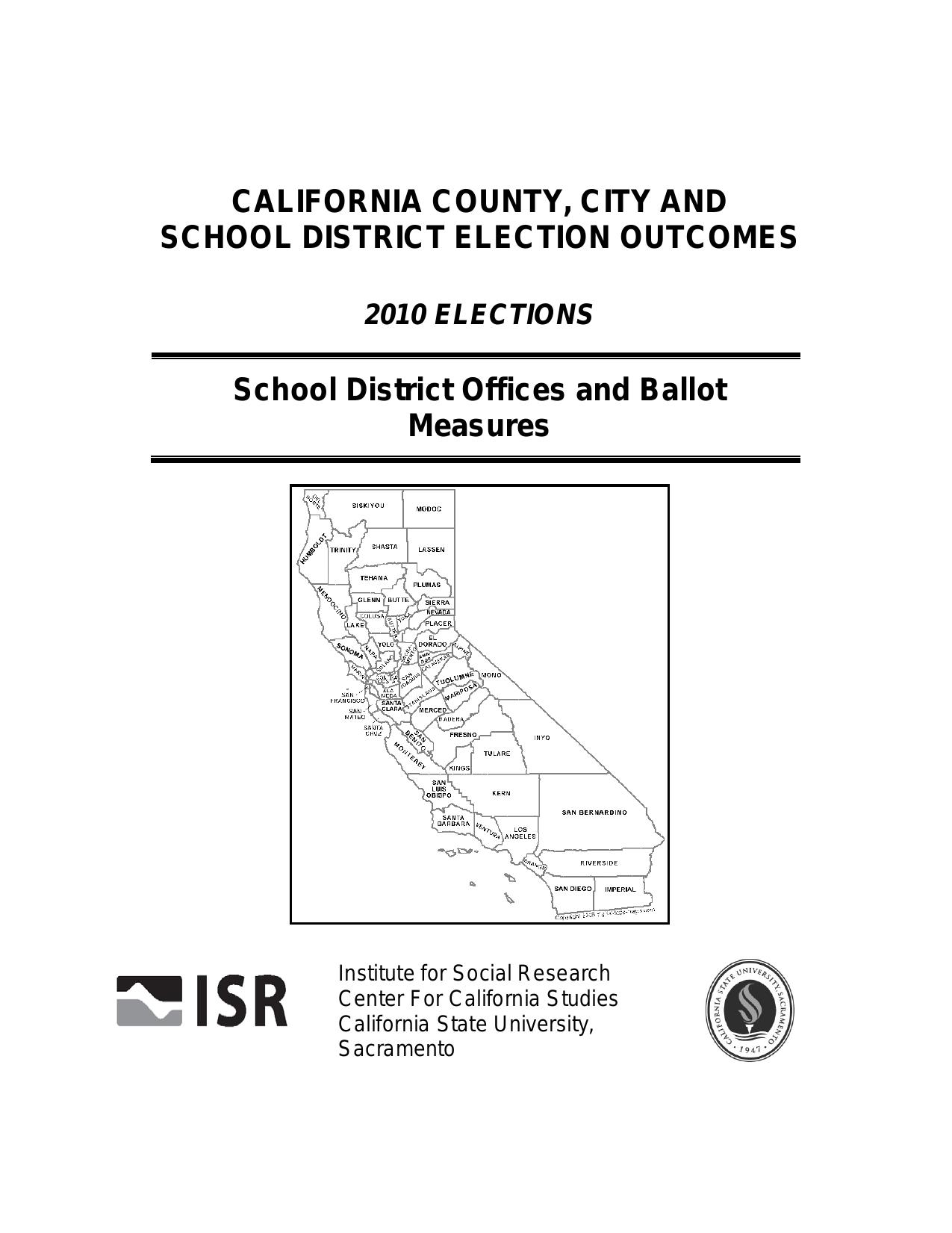 Ana Maria Polvorosa Hot california county, city and school district election