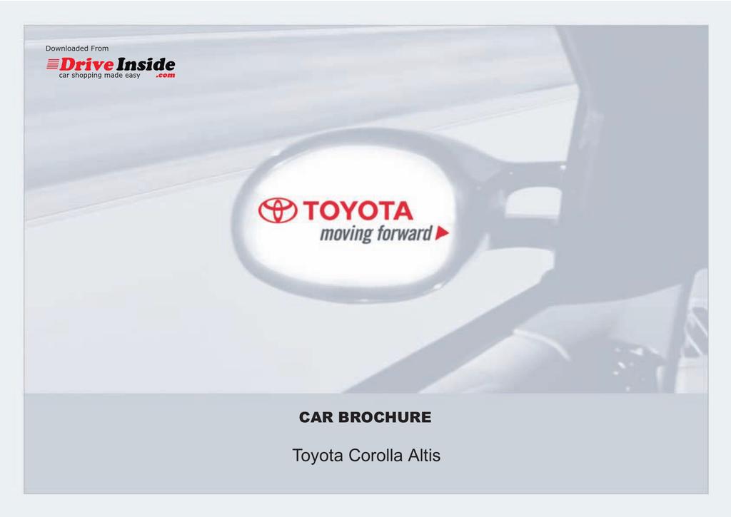 Toyota-Corolla-Altis-Brochure-468.pdf | Manualzz