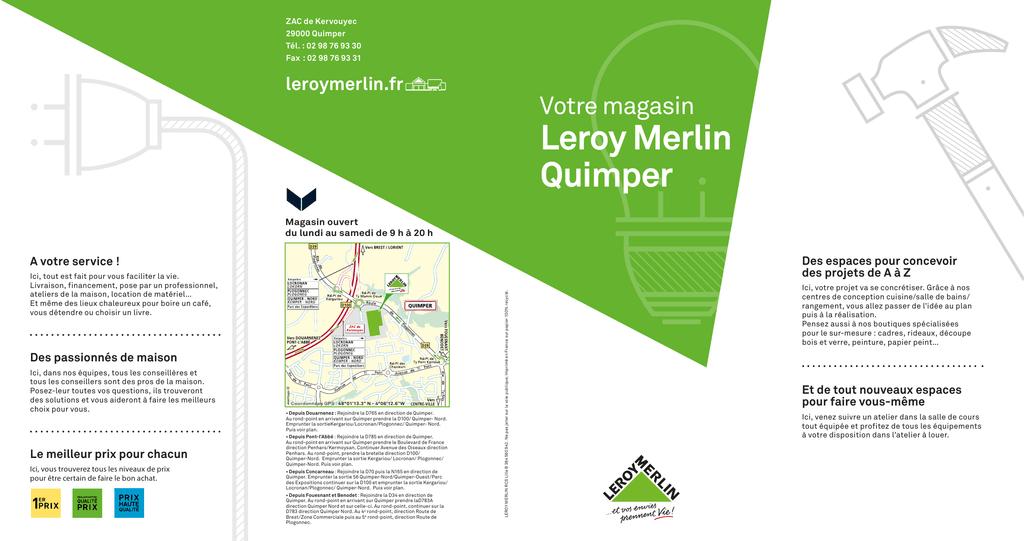 Leroy Merlin Quimper Votre Magasin Leroymerlinfr Manualzzcom