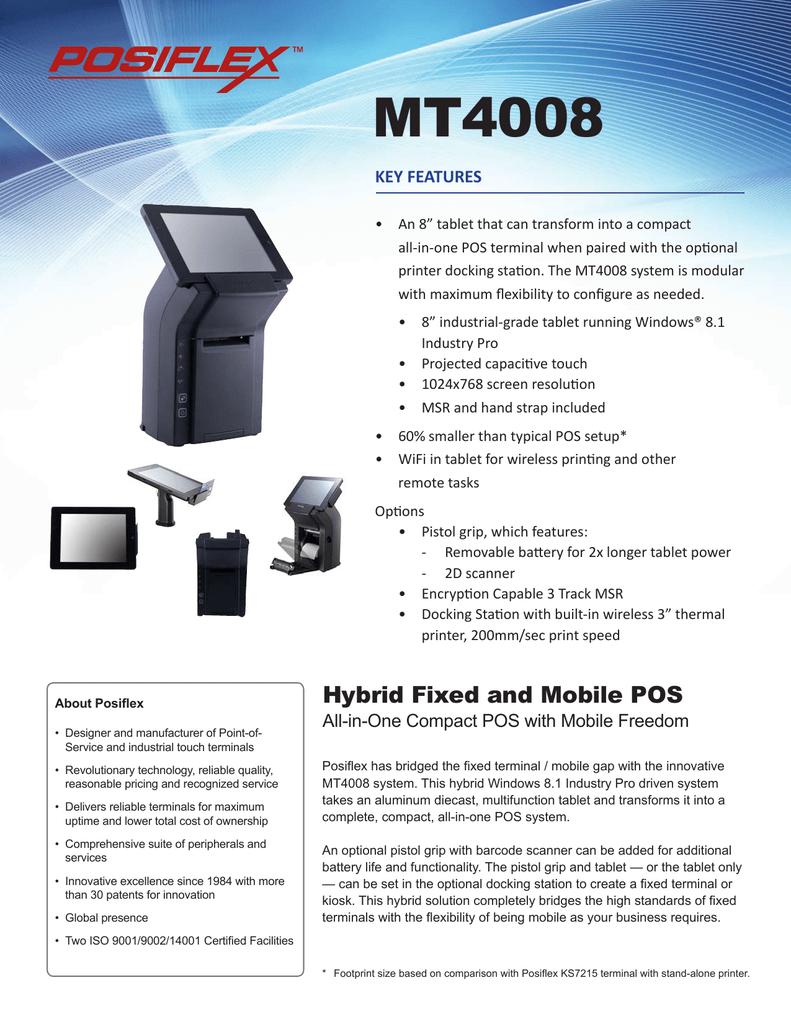 MT4008 KEY FEATURES | manualzz com