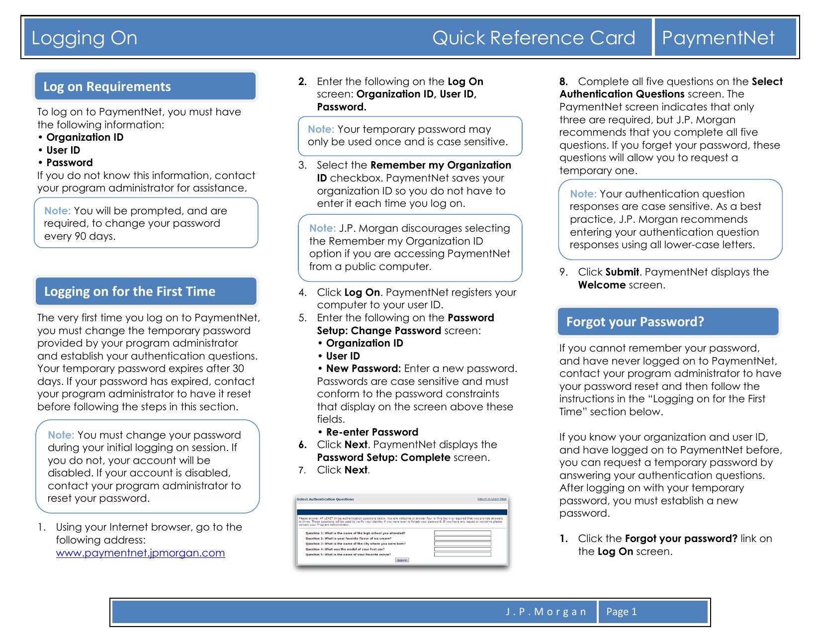 Logging On     PaymentNet | manualzz com