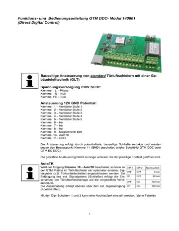 GTM DDC Modul Funktion 140801.pdf   Manualzz