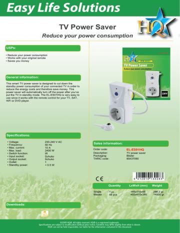 PRODUCT_DATASHEET_EL-ES01HQ_ENG.PDF   Manualzz