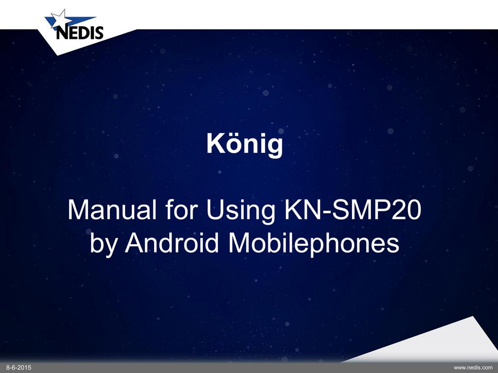 MAN_KN-SMP20.PDF | Manualzz