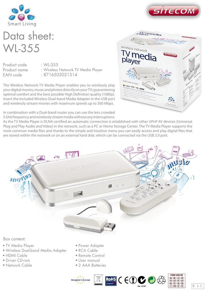 DATASHEET_CMPSC-WL355.PDF | Manualzz