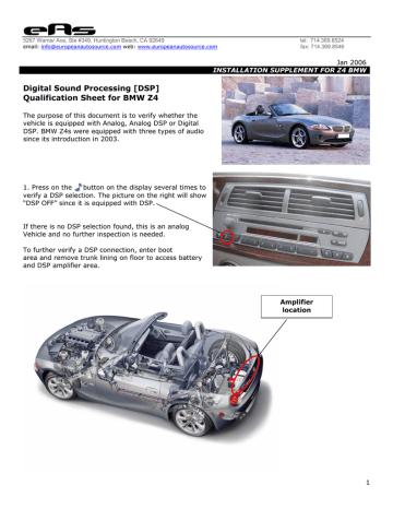 http://www.abar.co.uk/z4/eas_BMW_Qualification_Sheet_Z4.pdf | Manualzz