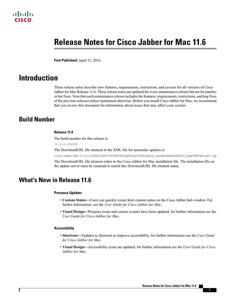 Jabber For Mac