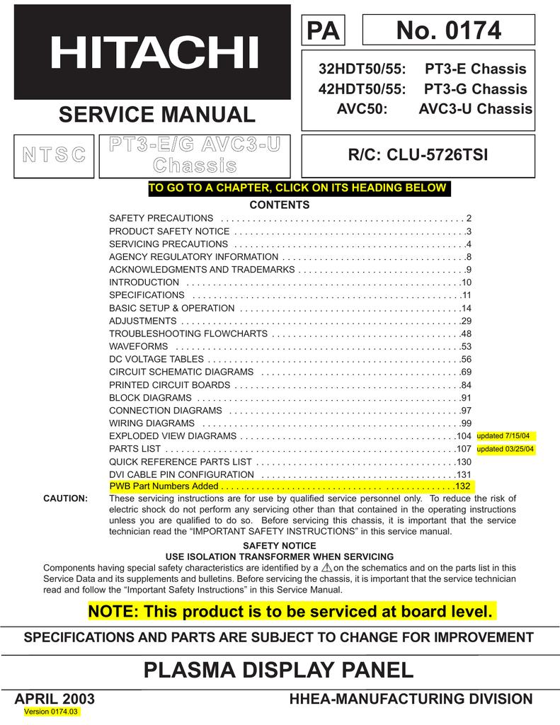 No  0174 PA SERVICE MANUAL P | manualzz com