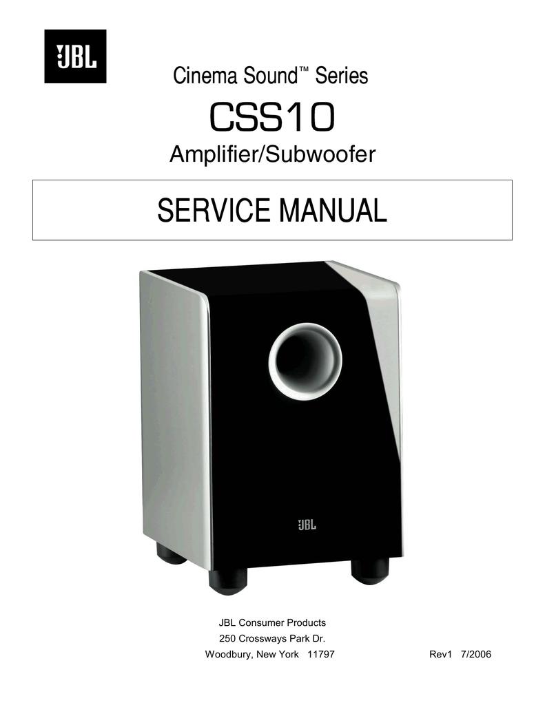 css10 service manual cinema manualzz com rh manualzz com