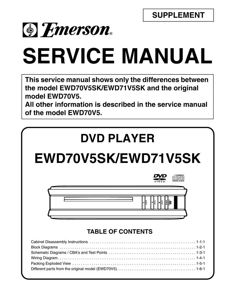 Service Manual Supplement Manualzz