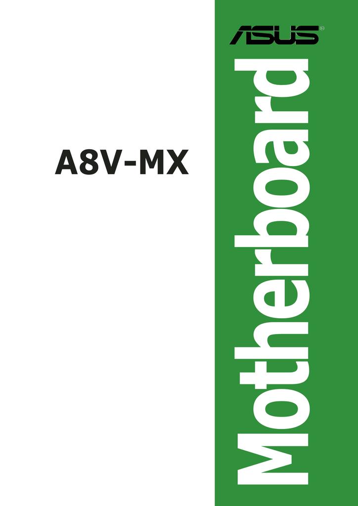 Motherboard A8V-MX