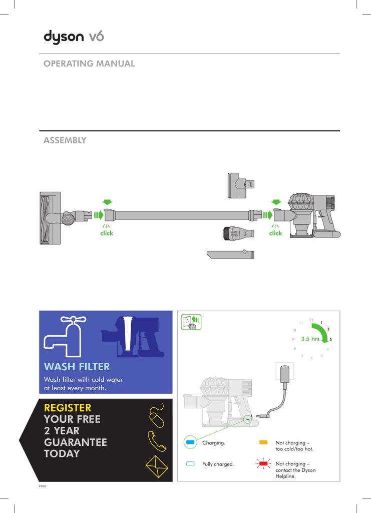 Dyson sv03 инструкци¤ электросушилка dyson airblade